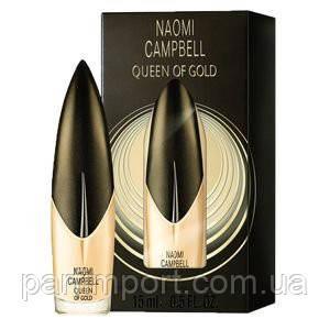 Naomi Campbel Queen of Gold EDT 15ml Туалетная вода женская (оригинал подлинник  Германия)