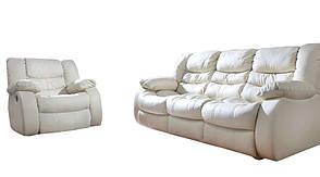 """Кожаная мебель с реклайнером """"REGAN"""" (3+1), фото 3"""