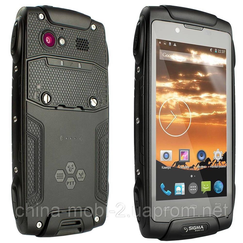 Смартфон Sigma mobile X-treme PQ25 Dual Black ''