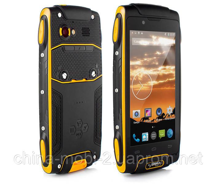 Смартфон Sigma mobile X-treme PQ25 Dual Black-yellow ''