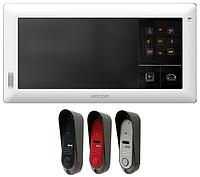 Комплект видеодомофона Kocom KVR-A510 + DVC-311C