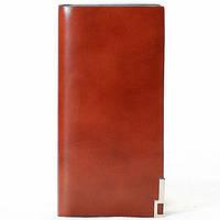Мужской кошелек Mantador коричневый натуральная кожа