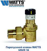 """Перепускной клапан для систем отопления WATTS USVR 16  3/4"""""""