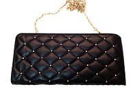 Женская сумка клатч 988567-50365 повседневный модный клубный черный
