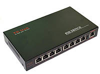 PoE коммутатор 8-и портовый 10/100Mb 8POE+1UTP, фото 1