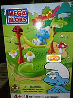 Конструктор Mega Bloks Smurfs 18 дет.