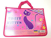 Папка- портфель Sweet Kitten  А4