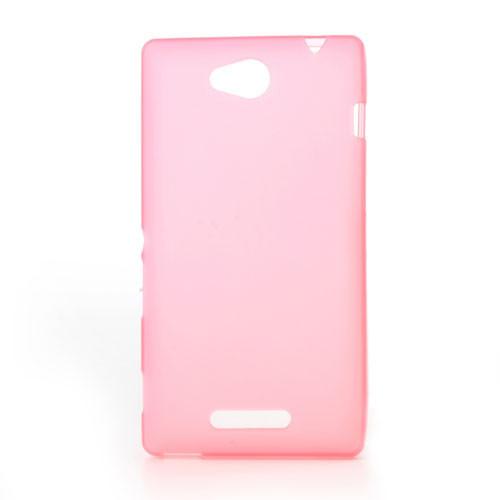 Чехол накладка силиконовый TPU Soft для LG X Cam K580 розовый