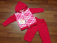 Детский Флисовый костюм для девочки размер 1 год, фото 1