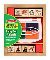 """Штампы """"Детеныши зверей зоопарка"""", Melissa&Doug"""