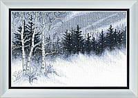 Набор для вышивания крестом Crystal Art Зимняя ночь
