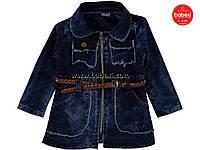 Красивый джинсовый  кардиган для девочки 3,4,5 лет  код.204167