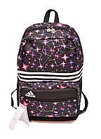 Школьный и спортивный рюкзак Adidas ГАЛАКТИКА AN-9307 (черный)