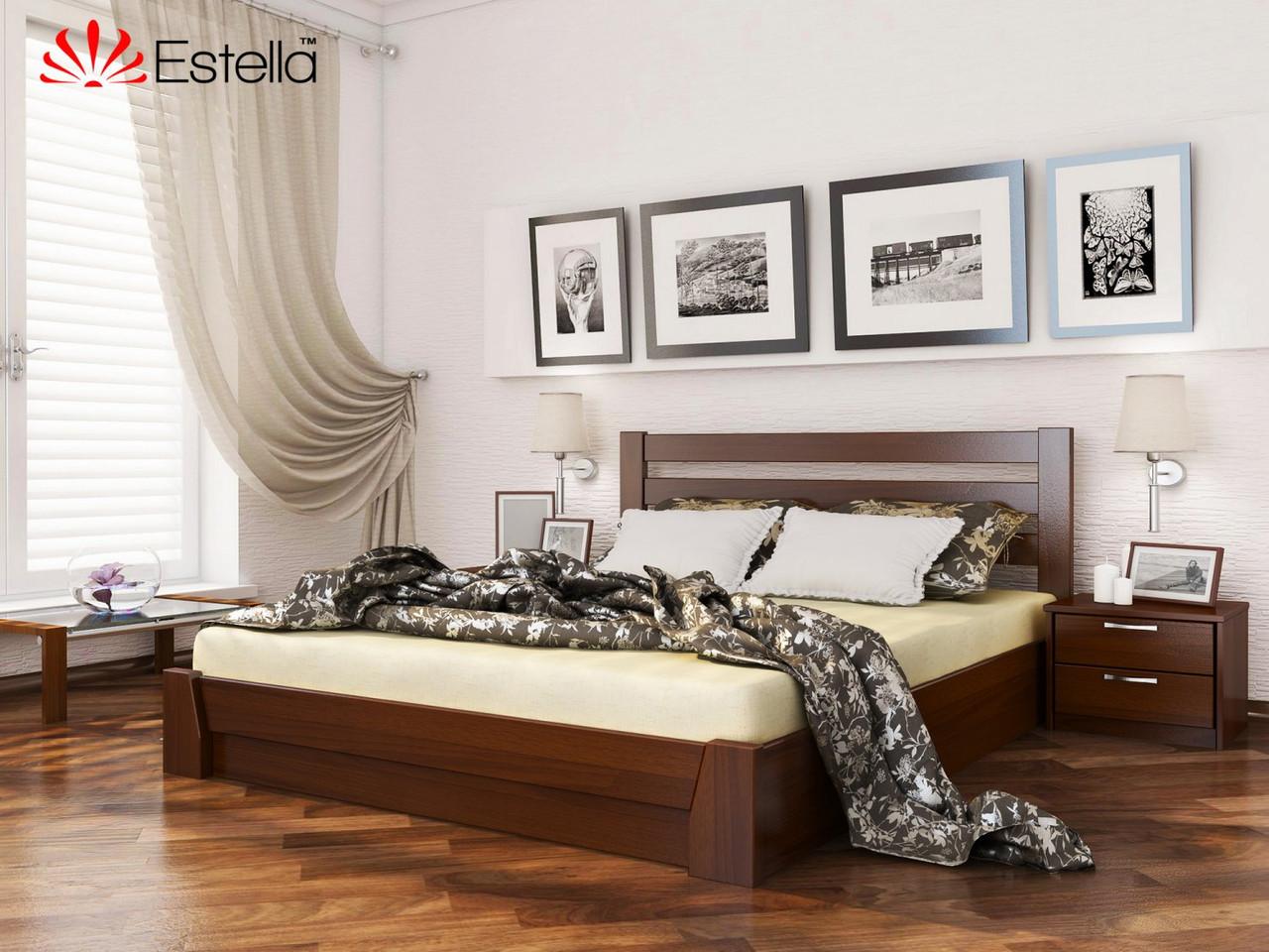 Дерев'яне ліжко Селена Естелла