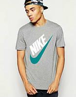 Брендовая футболка Nike, брендовая футболка найк, мужская с цветным принтом, все размеры, ф502
