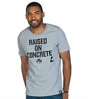 Брендовая футболка Nike, футболка мужская найк, тёмно-серая, ф530