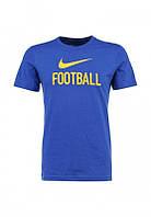 Брендовая футболка Nike, синяя брендовая футболка найк, женская/мужская в асортименте, ф537