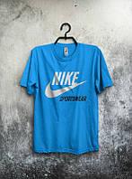 Футболка nike sportswear, найк, бирюзовая, ф587