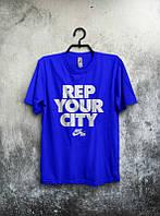 Брендовая футболка Nike, брендовая футболка найк, очень хорошего качества, синяя, мужская, ф1685
