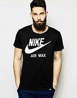 Брендовая футболка Nike, спортивная, летняя, лёгкая футболка, найк, ве размеры, ф1844