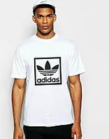 Брендовая футболка Adidas, спортивная футболка адидас, отличного качества, мужская, ф1868