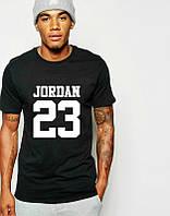 Брендовая футболка JORDAN, повседневная футболка джордан, отличного качества, мужская, ф2087