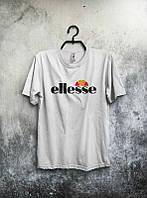 Брендовая футболка ELLESSE, брендовая футболка елсе, белая, ф2092