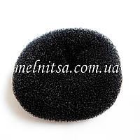 """Валик-бублик  для прически """"Бабетта"""", 8,5 см, черный"""