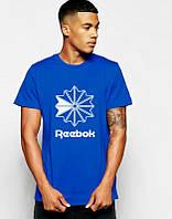 Брендовая футболка Reebok, рибок, в наличии, мужская, хлопок, ф2249