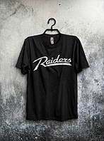 Брендовая футболка, черная, хлопок, мужская, летняя, в наличии, ф2574
