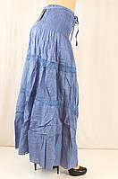 Летняя красивая легкая юбка - сарафан