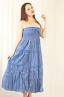 Летний красивый легкий сарафан-юбка