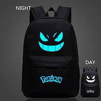 Рюкзак Pokemon Go светится в темноте (черный)
