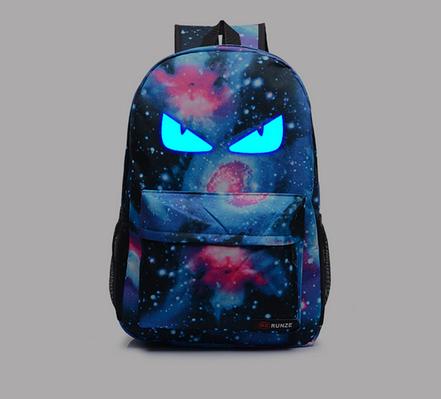 Рюкзак Pokemon Go светится в темноте (космос синий 2)
