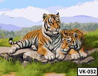 Картина на холсте по номерам VK 032  40x30см