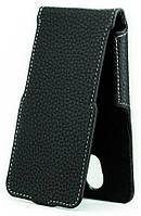 Чехол Status Flip для Bravis A501 Bright Black Matte