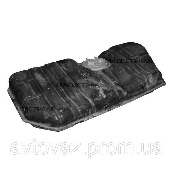 Бак топливный, бензобак ВАЗ 2110, ВАЗ 2170 Приора инжектор с ЭБН н/о с толстой шпилькой М6