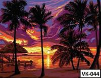 Картина на холсте по номерам VK 044  40x30см
