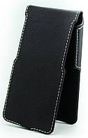 Чехол Status Flip для Huawei Ascend G630 Black Matte