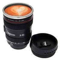 Чашка - термос обьектив Canon - подарок для фотографа, фото 1