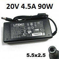 Зарядное устройство для ноутбука Асер LiteON 20V, 4.5A, 90W, A-класс, 5.5mm*2.5mm