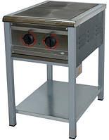 Плита електрична промислова АРМ-ЕКО ПЕ-2 енергозберігаюча, нерж/полімер.
