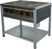 Плита електрична промислова АРМ-ЕКО ПЕ-4, енергозберігаюча, полімерне покриття
