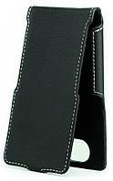 Чехол Status Flip для LG Max X155 Black Matte