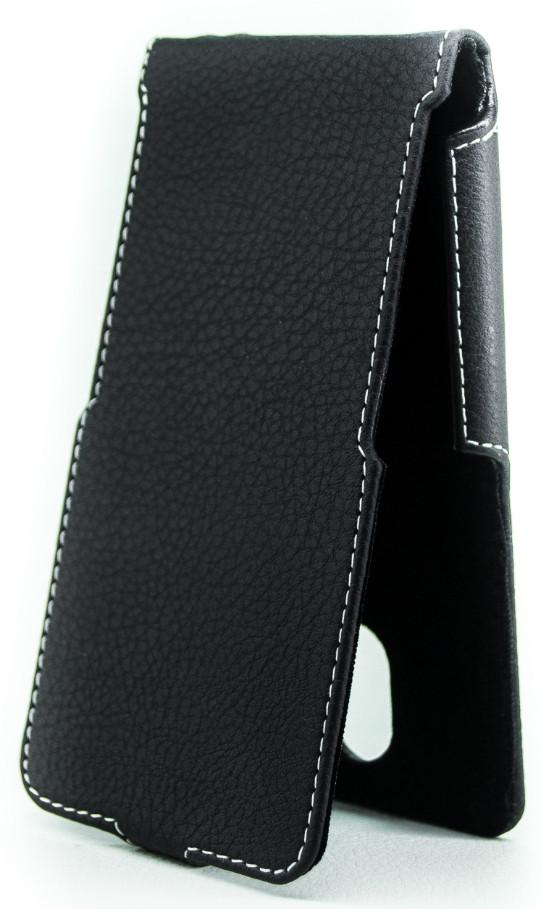 Чехол Status Flip для Meizu M2, M2 Mini Black Matte