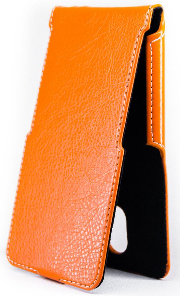 Чехол Status Flip для Meizu M2 Note Orange