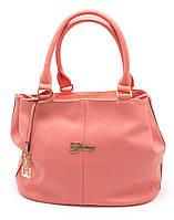 Симпатичная женская розовая сумка  Б/Н art.2116