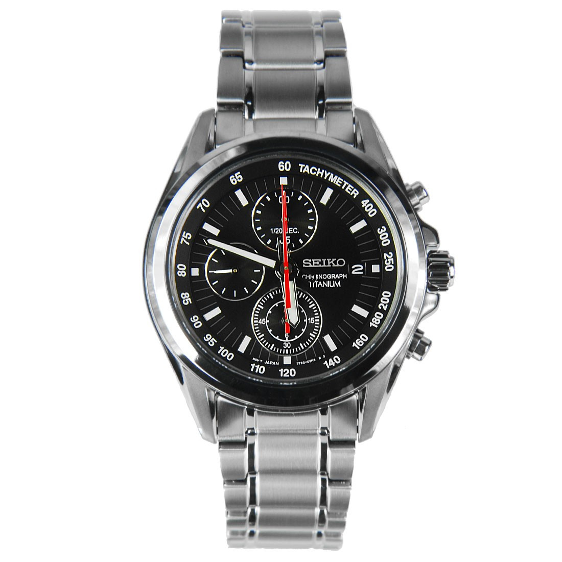 Часы Seiko SNDC93P1 хронограф Titanium