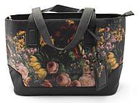 Классическая женская сумочка с цветочным принтом Б/Н art. 1351