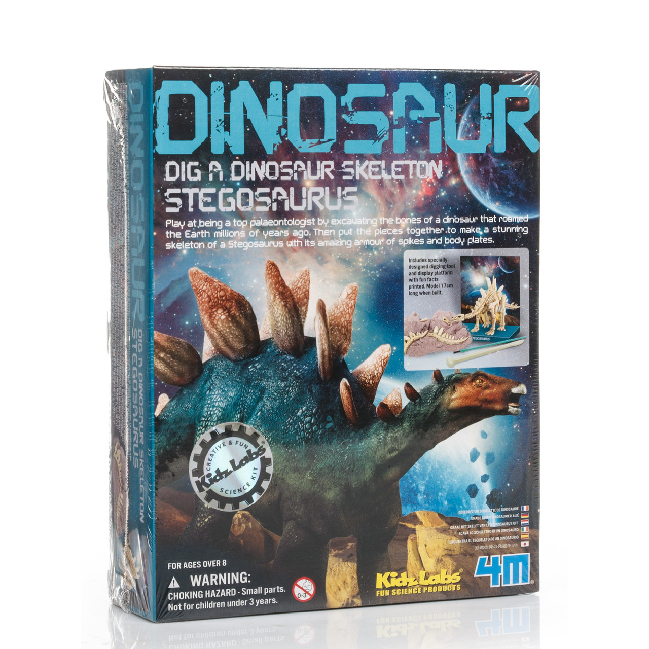 Набор 4M Археологические раскопки динозавра Стегозавр (03229)